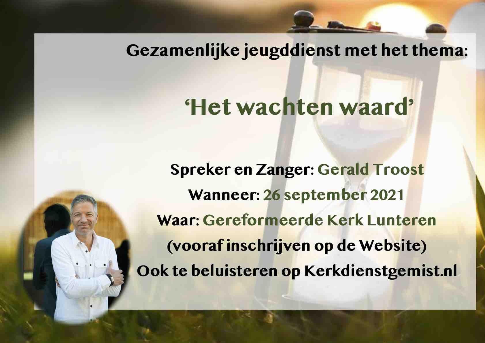 Kerkdienst 26 september @ Gereformeerde kerk | Lunteren | Gelderland | Nederland