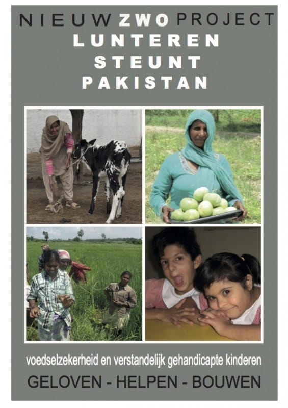 Een toekomst voor een kind met een handicap in Pakistan
