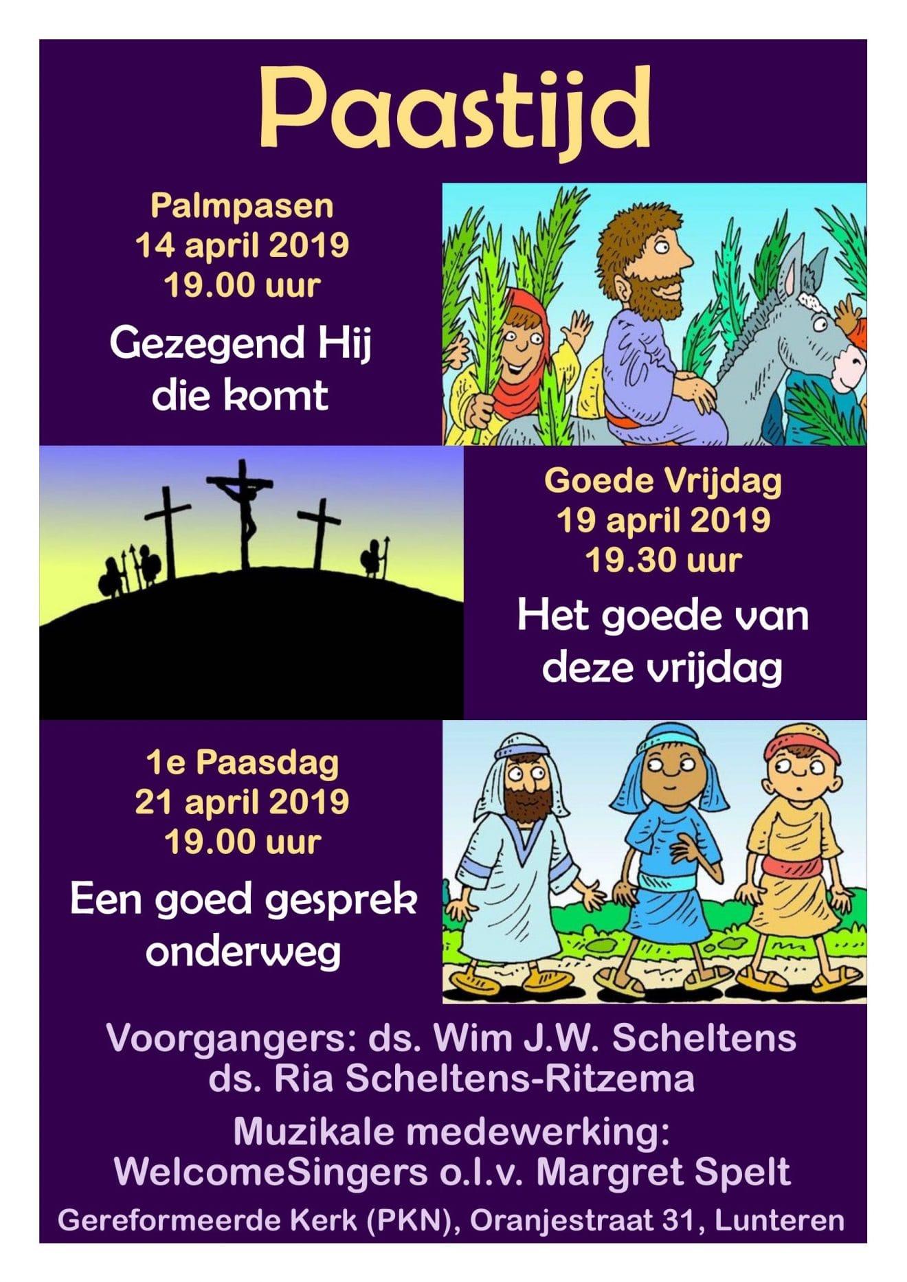 Paastijd 2019