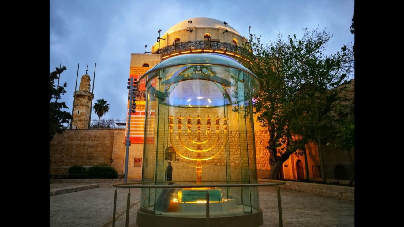 Goed gesprek in Jeruzalem