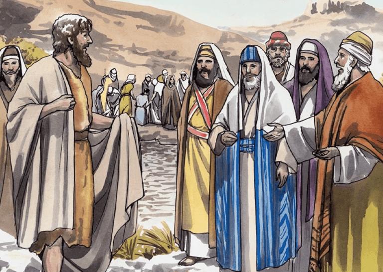 Johannes doopt mensen (kindermoment 20210110)