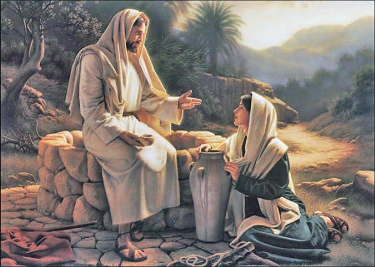 Jezus, de bron van levend water