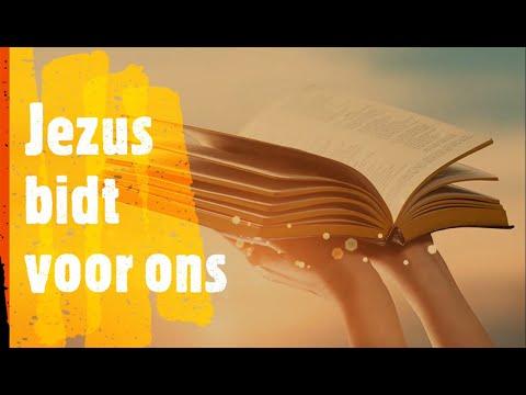 Jezus bidt in de hemel voor ons