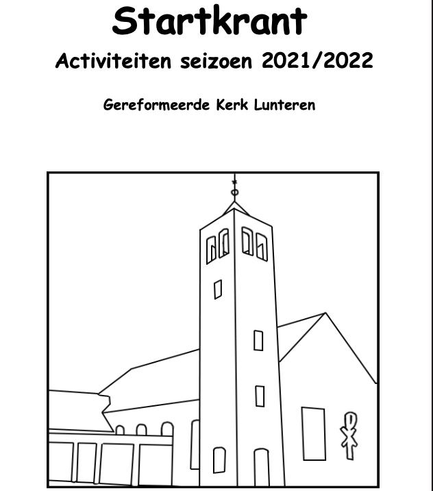 Startkrant 2021 - 2022